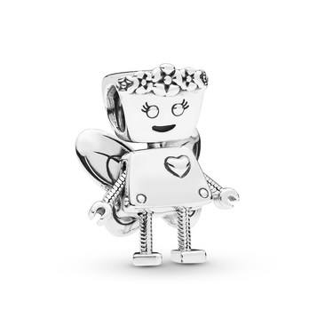 Pandora Limited Edition Floral Bella Bot Charm  - Click to view larger image