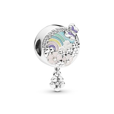 Pandora Flower Colour Story Charm  - Click to view larger image