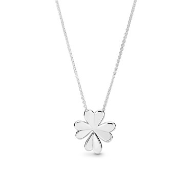 Pandora Lucky Four Leaf Clover Necklace Click To View Larger Image