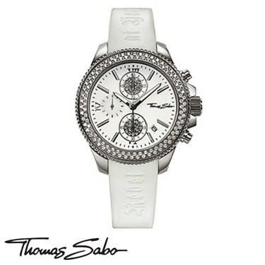 Thomas Sabo White Crystal Rebel Watch