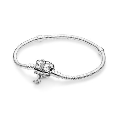 Pandora Moments Silver Butterfly Clasp Bracelet  - Click to view larger image