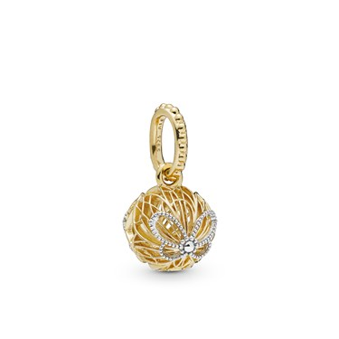 Pandora Shine Openwork Butterflies Pendant  - Click to view larger image