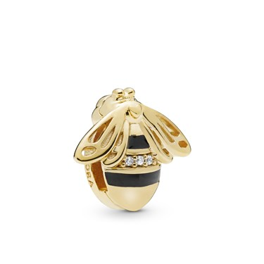 Pandora Reflexions Queen Bee Clip Charm  - Click to view larger image