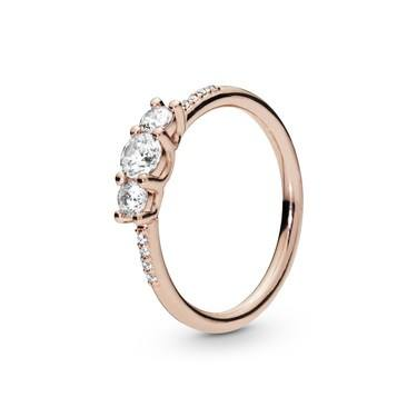 Pandora Rose Sparkling Elegance Ring  - Click to view larger image