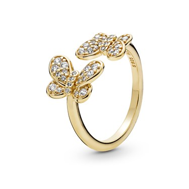 Pandora Shine Dazzling Butterflies Ring  - Click to view larger image