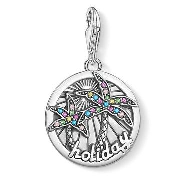Thomas Sabo Tropical Holiday Pendant Charm   - Click to view larger image