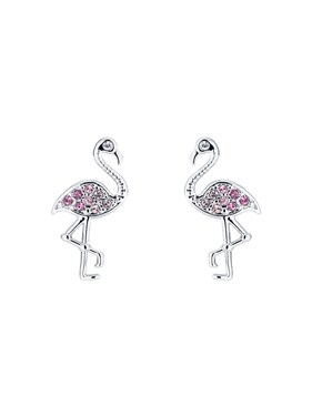 Ted Baker Flozie Flamingo Cuff Earrings  - Click to view larger image