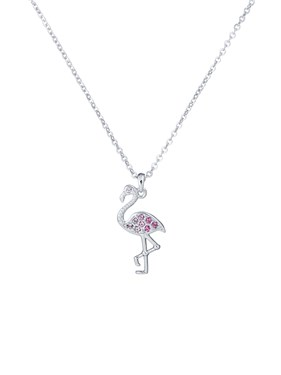 Ted Baker Flozie Flamingo Pendant Necklace  - Click to view larger image