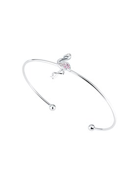 Ted Baker Flozie Flamingo Cuff Bangle  - Click to view larger image