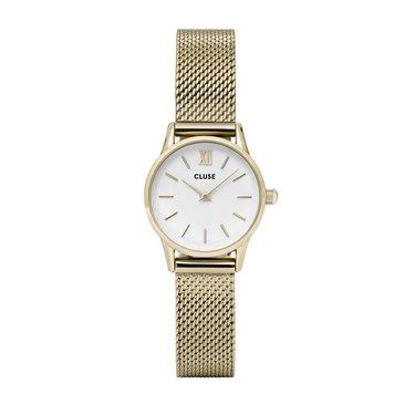 CLUSE La Vedette Gold Mesh Watch  - Click to view larger image
