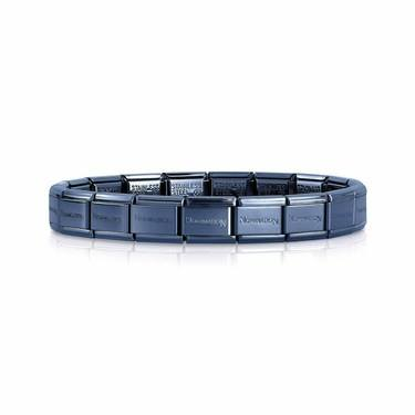Nomination Blue Classic Composable Bracelet  - Click to view larger image