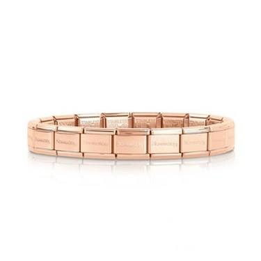 Nomination Classic Rose Gold Base Bracelet  - Click to view larger image