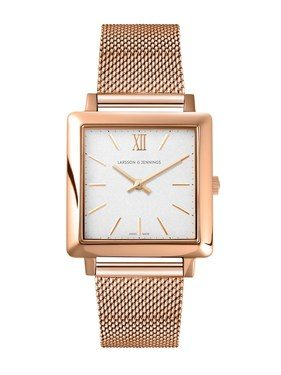 Larsson & Jennings  Norse Rose Gold 34mm Watch  - Click to view larger image
