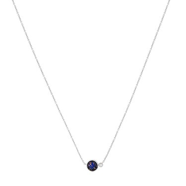 Argento Blue Lapis Imprints Necklace  - Click to view larger image