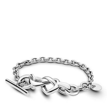 5b64c36b9 Pandora Knotted Heart Bracelet - Click to view larger image