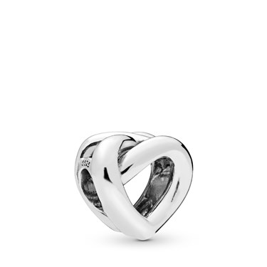 Pandora Knotted Heart Charm  - Click to view larger image