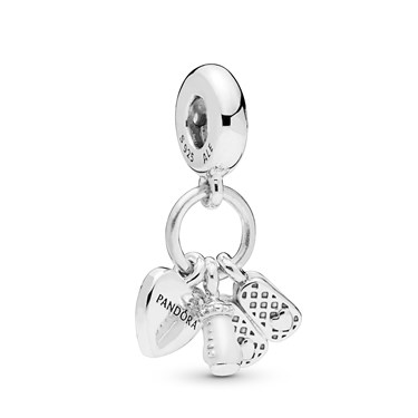 Pandora My Little Baby Pendant Charm  - Click to view larger image