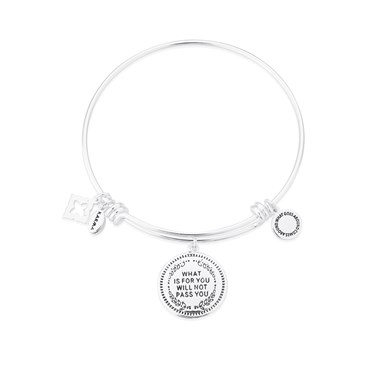 Karma What is For You Bangle  - Click to view larger image