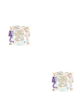 Kate Spade New York Mini Iridescent Square Earrings   - Click to view larger image