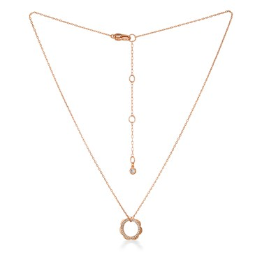 Kate Spade New York Rose Gold Scallop Necklace   - Click to view larger image