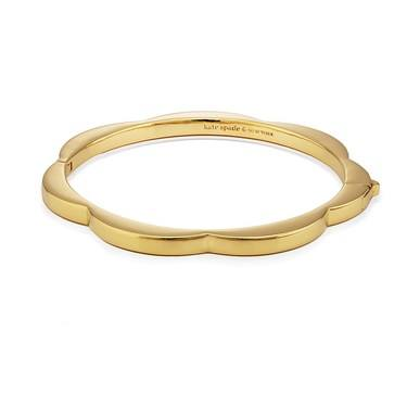 Kate Spade New York Gold Scallop Bangle   - Click to view larger image