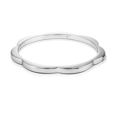 Kate Spade New York Silver Scallop Bangle   - Click to view larger image