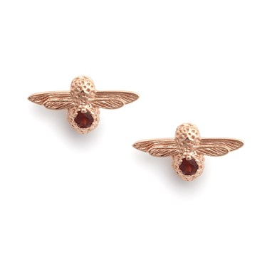 Olivia Burton Celebration Bee January Earrings  - Click to view larger image
