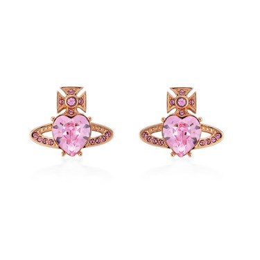 Vivienne Westwood Rose Gold Ariella Earrings  - Click to view larger image
