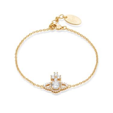 Vivienne Westwood Gold Valentina Orb Bracelet  - Click to view larger image