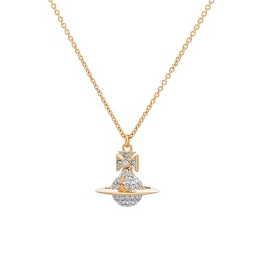 Vivienne Westwood Lena Gold Small Necklace  - Click to view larger image