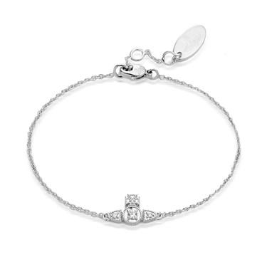 Vivienne Westwood Mairi Silver Bracelet  - Click to view larger image