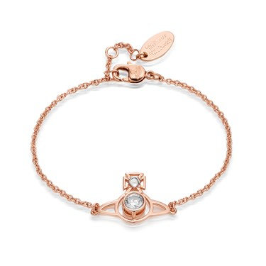 Vivienne Westwood Rose Gold Nora Bracelet  - Click to view larger image