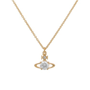 Vivienne Westwood Gold Reina Necklace  - Click to view larger image