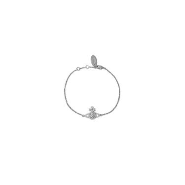 Vivienne Westwood Silver Valentina Orb Bracelet  - Click to view larger image