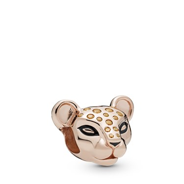 Pandora Rose Sparkling Lion Princess Charm  - Click to view larger image