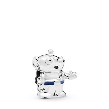 Pandora Disney Pixar Toy Story Alien Charm  - Click to view larger image