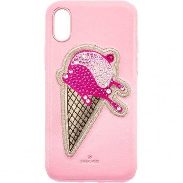 Swarovski No Regrets Ice Cream iPhone XS Max Case  - Click to view larger image
