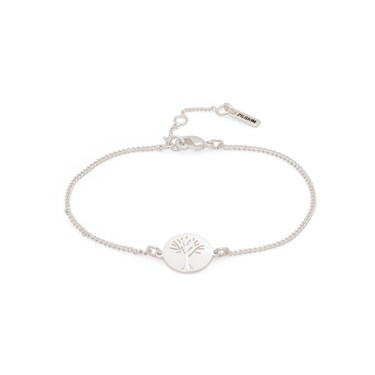 Pilgrim Silver Tree Of Life Bracelet   - Click to view larger image