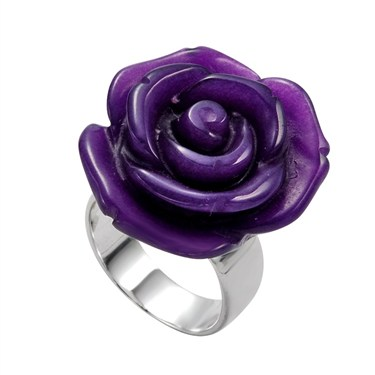 Argento Rose Ring