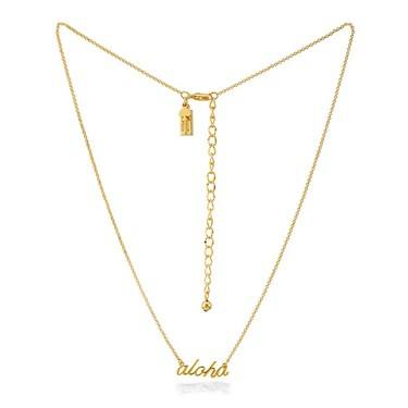 Kate Spade New York Gold Aloha Necklace   - Click to view larger image