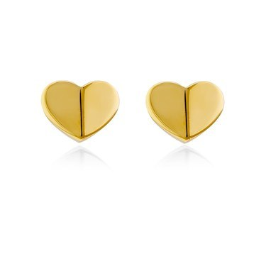 Kate Spade New York Gold Small Heart Earring  - Click to view larger image