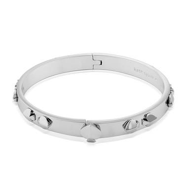 Kate Spade New York Silver Multi Spade Bangle  - Click to view larger image