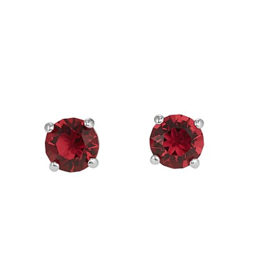 Swarovski Attract Scarlett Red Earrings  - Click to view larger image