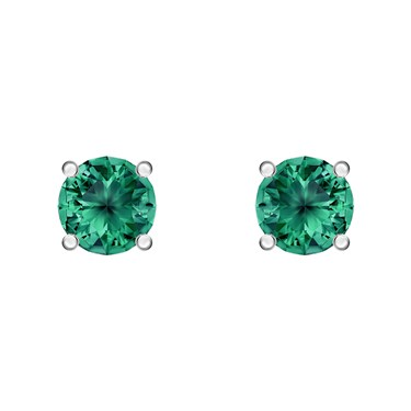 Swarovski Attract Green Earrings   - Click to view larger image