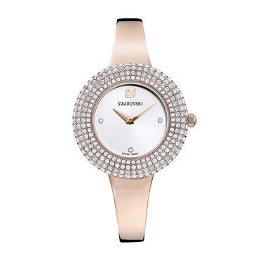 Swarovski Crystal Rose Rose Gold Watch   - Click to view larger image