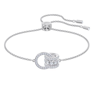 Swarovski Further Silver Pull Bracelet   - Click to view larger image