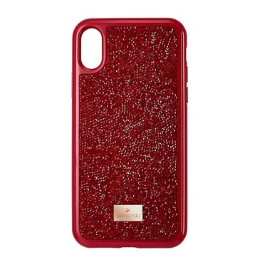 Swarovski Glam Rock Red iPhone X/Xs Case  - Click to view larger image