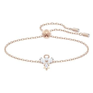 Swarovski Magic Rose Gold Angel Bracelet   - Click to view larger image