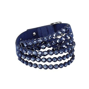 Swarovski Power Slake Blue Bracelet  - Click to view larger image