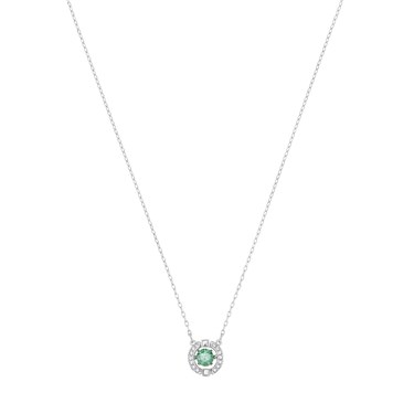 Swarovski Sparkling Dance Green Necklace  - Click to view larger image